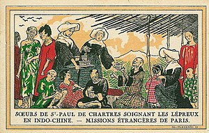 Sisters of Charity of St. Paul - Sisters of Saint Paul of Chartres in Indochina in 1931.