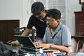 Indrajit Das and Kalyan Sarkar - Wikimedia Meetup - St Johns Church - Kolkata 2016-09-10 9402.JPG