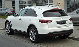 Infiniti QX70 - FX30d S (Germany; pre-facelift)