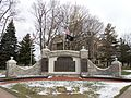 Ingham County Courthouse Mason memorial.jpg