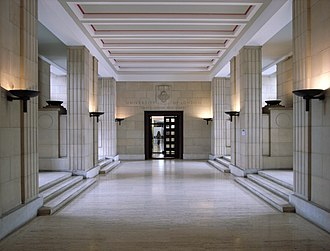 Senate House, London - Senate House Entrance