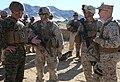 Integrated Task Force Marines welcome Twentynine Palms leadership during pilot test 150304-M-DU612-030.jpg