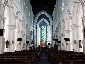 St Andrew's Cathedral, Singapore - Nave of St Andrew's Cathedral
