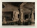 Interior of a cave on the island of Elephanta, near Bombay, Wellcome V0050489.jpg