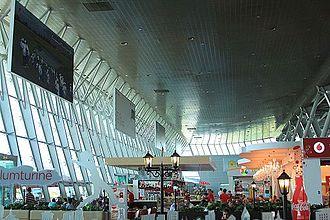 Tirana International Airport Nënë Tereza - Terminal interior