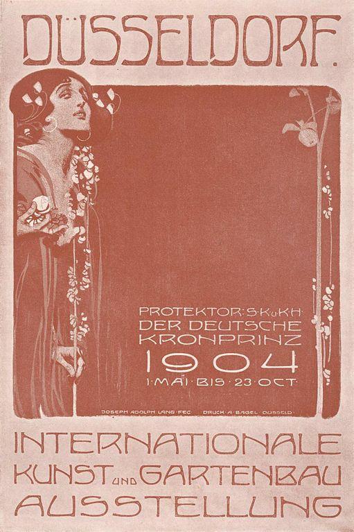 Gartenbau Düsseldorf file internationale kunst und gartenbau ausstellung düsseldorf 1904