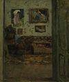 Ipolit Strambu - Interior in casa artistului.jpg