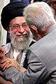 Iran Supreme Leader Ali Khamenei meets Modafean Haram families 11.jpg
