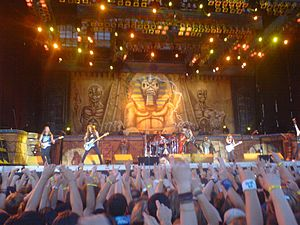 Iron Maiden in Warsaw 2008