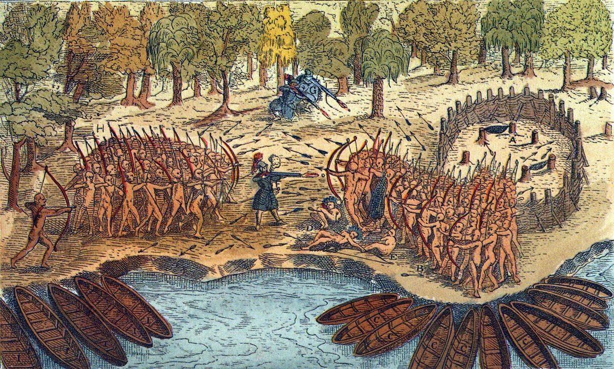 Bataille du lac Champlain (1609) — Wikipédia