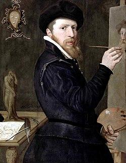 Isaac Claesz. van Swanenburg - Self-Portrait - WGA21987.jpg