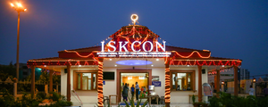 International Society for Krishna Consciousness - ISKCON Temple in Delhi, Dwarka, India