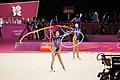 Israel Rhythmic gymnastics at the 2012 Summer Olympics (7915098884).jpg