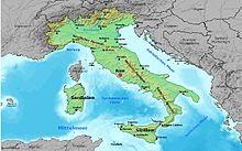 kart over gardasjøen Italiensk geografi – Wikipedia kart over gardasjøen