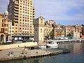 Italia, Savona, La torre de Leon Pancaldo vista desde la dársena de cruceros - panoramio.jpg