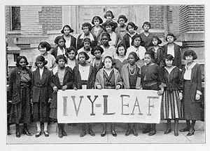 "Alpha Kappa Alpha - An ""Ivy Leaf Pledge Club"" located at Wilberforce University in 1922"