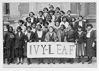 "Alpha Kappa Alpha - An ""Ivy Leaf Pledge Club"" located at Wilberforce University in 1922"