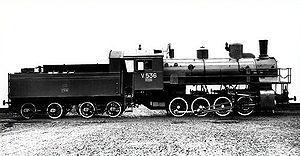 Russian locomotive class Izhitsa - Image: Izhitsa Parovoz