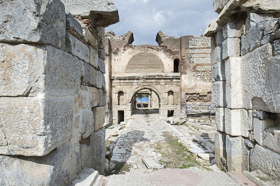 Iznik Wall at Istanbul Gate 8288