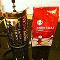 J'ai mon café pour demain matin. -Starbucks -ChristmasBlend (6337457855).jpg