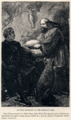 J. Cooper, Sr. - Sir Walter Scott - Le Noir Faineant in the Hermit's Cell - Ivanhoe.png