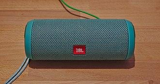 Wireless speaker - A JBL Flip 3 bluetooth speaker
