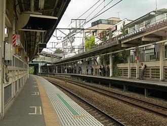 Bubaigawara Station - Image: JR Bubaigawara Station platform