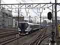 JRE E257-2000 Odoriko Tsurumi Station 2020-03-17.jpg