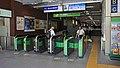 JR Chuo-Main-Line・Tokyo Metro Tozai-Line Nakano Station South Gates.jpg