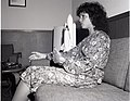 JUDITH RESNICK - LADY ASTRONAUT FOR SPACE SHUTTLE - DURING VISIT TO NASA LEWIS RESEARCH CENTER - NARA - 17472589.jpg