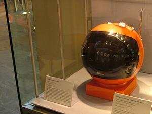 Videosphere - JVC Videosphere displayed at the Geffrye Museum.