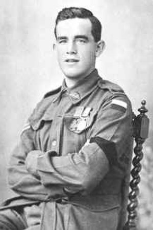 16th Battalion, Royal Western Australia Regiment - Thomas Axford, one of the 16th Battalion's three Victoria Cross recipients