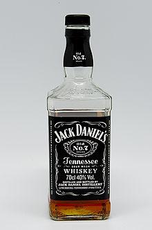 Bottiglia di Jack Daniel's