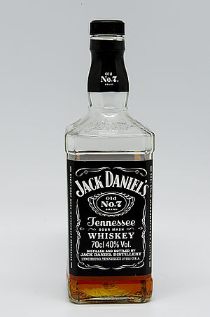 "Heavy metal lyrics - Jack Daniel's whiskey is celebrated in heavy metal culture. Head shops sell T-shirts and belt buckles with the brand's distinctive label. Carnivore has a song about the drink, entitled ""Jack Daniels And Pizza""."