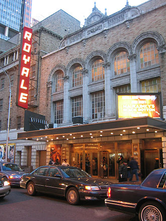 Bernard B. Jacobs Theatre - The Royale Theatre, showing Ma Rainey's Black Bottom, 2003