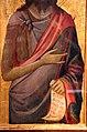 Jacopo del casentino, san giovanni battista e profeta nella cuspide, 1330-35 ca., 03.JPG