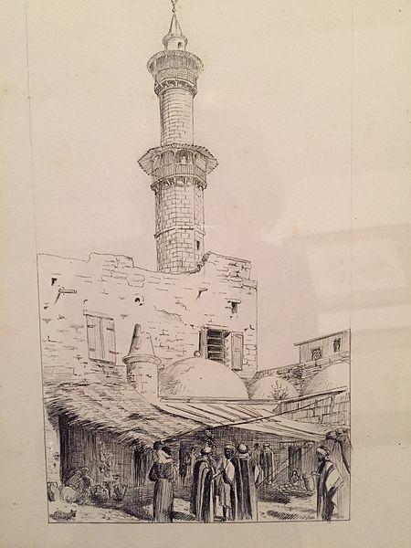 La mosquée et le bazar