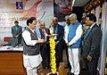 Jagat Prakash Nadda lighting the lamp to inaugurate the South Zone Vice-Chancellors Conference, at Vellore Institute of Technology, in Tamil Nadu. The Governor of Karnataka, Shri Vajubhai Rudabhai Vala and the Chancellor.jpg