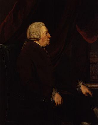 James Harris (grammarian) - James Harris, portrait attributed to Frances Reynolds, c. 1777