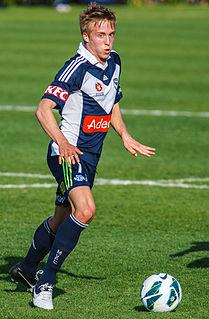 James Jeggo Australian soccer player