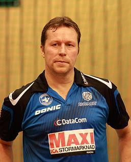 Jan-Ove Waldner Swedish table tennis player