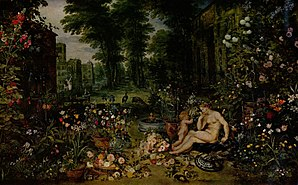 "Odor - ""Smell"", from Allegory of the Senses by Jan Brueghel the Elder, Museo del Prado"