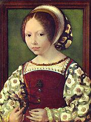 A Young Princess (Dorothea of Denmark?)