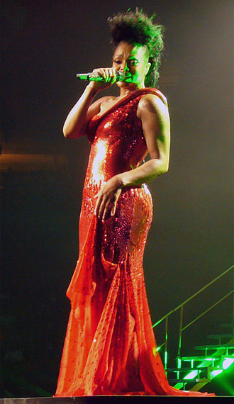 "Again (Janet Jackson song) - Jackson performing ""Again"" on the Rock Witchu Tour."