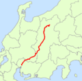 Japan National Route 19 Map.png
