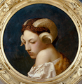 Jean-Léon Gérôme - Head of a Woman.png