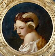 Jean-Léon Gérôme - Head of a Woman.png
