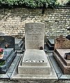 Jean-Paul Sartre & Simone De Beauvoir's Grave In Montparnasse Cemetery, Paris April 2014.jpg