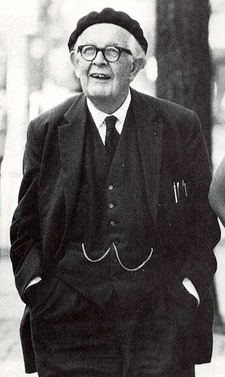 Jean Piaget na University of Michigan v roce 1968