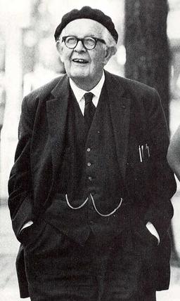Jean Piaget in Ann Arbor